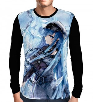 Camisa Manga Longa Ice Queen Esdeath - Akame Ga Kill