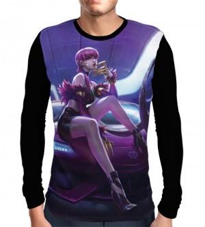 Camisa Manga Longa Evelynn K/DA - League Of Legends