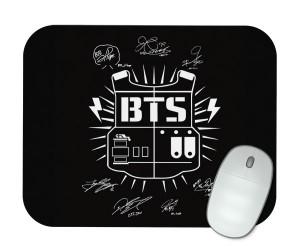 Mouse Pad - BTS - Logo Clássica Normal - K-Pop
