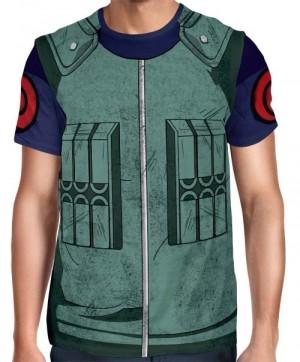 Camisa Full Print Uniforme - Kakashi Hatake Modelo 2 - Naruto
