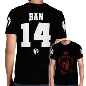 Camisa Full PRINT Greed - Ganância - Ban - Nanatsu No Taizai