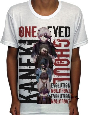Camisa SB Evolution Kaneki - Tokyo Ghoul