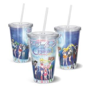 Copo Acrilico Sailor Moon Crystal