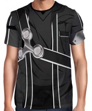 Camisa FULL Print Uniforme Kirito - Sword Art Online
