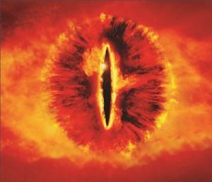 Mouse Pad - Olho de Sauron - Senhor dos Anéis