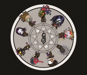 Mouse Pad - Slipknot Redondo