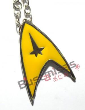 STR-01 - Insignia Capitão - Star Trek