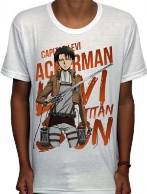 Camisa SB - TN Capitão Levi - Attack on Titan