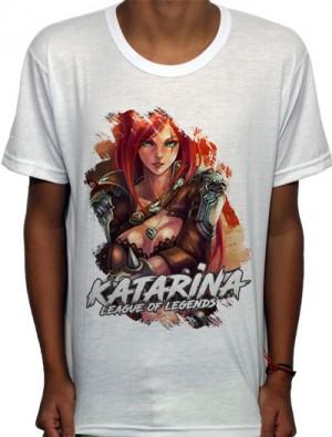 Camisa SB - TN Classic Katarina - League Of Legends