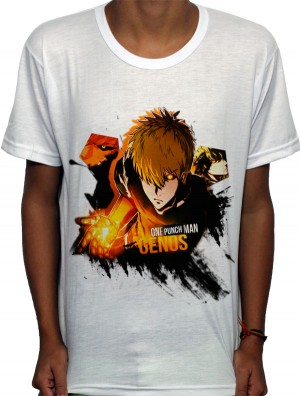 Camisa SB - TN Genos - One Punch Man