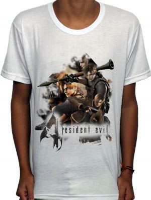 Camisa SB - Leon - Resident Evil 4