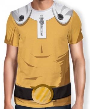Camisa Full Print Uniforme - Saitama - One Punch Man