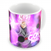 CNDBZ-03- Caneca Rose God Goku Black - Dragon Ball SUPER