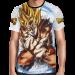 Camisa Full Art Brusher Son Goku SSJ - Dragon Ball Super