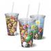 Copo Acrilico Super Mario Bros