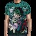 Camisa Full PRINT Green Manga Midoriya- Boku No Hero Academia Mod 02